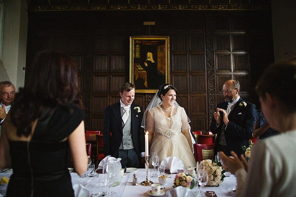 St Johns College Wedding Photography
