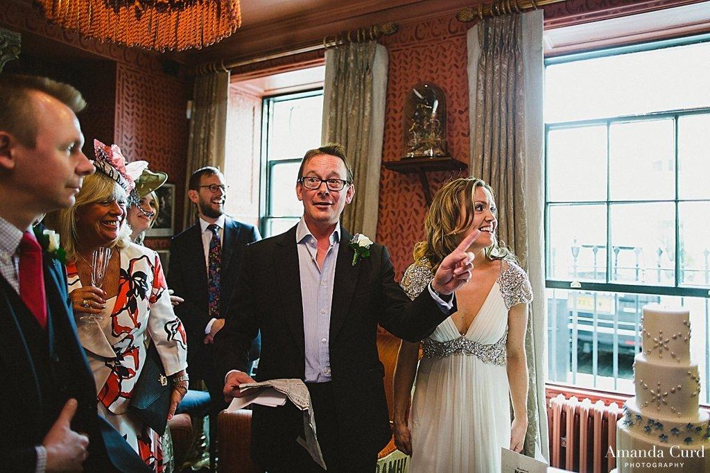 Zetter Townhouse Wedding & St Brides Church London Wedding Photography