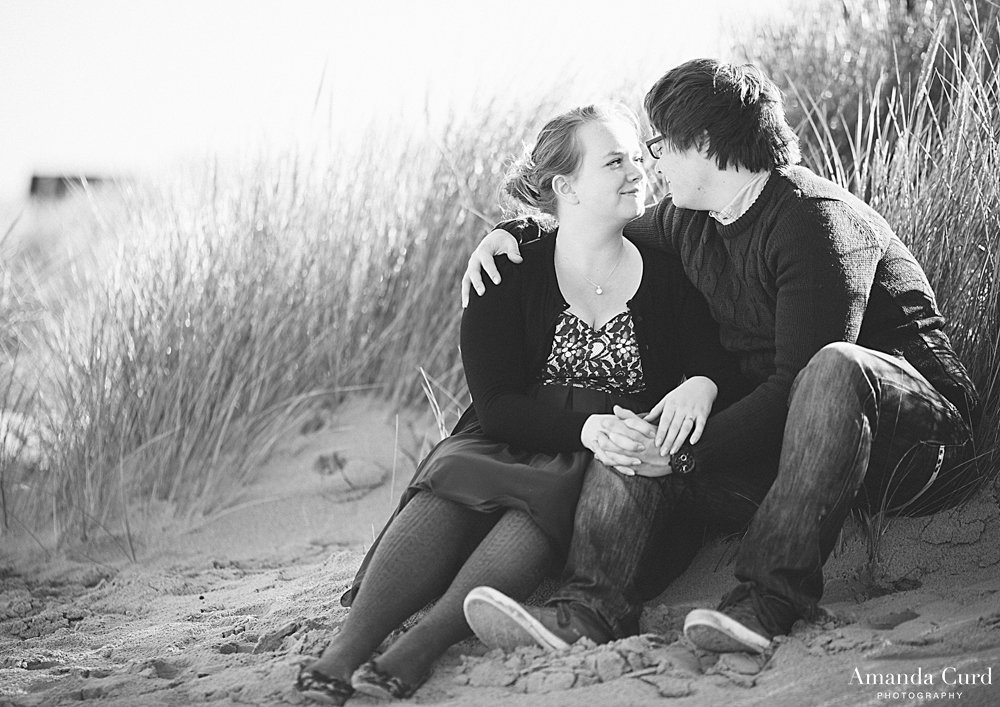 Wells next the Sea Engagement Photography