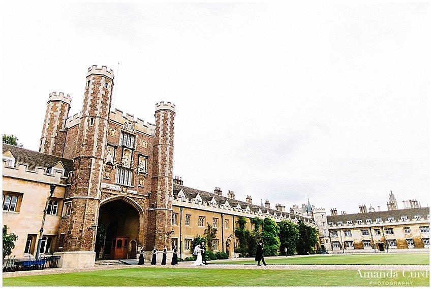 Trinity College Cambridge Wedding Photography