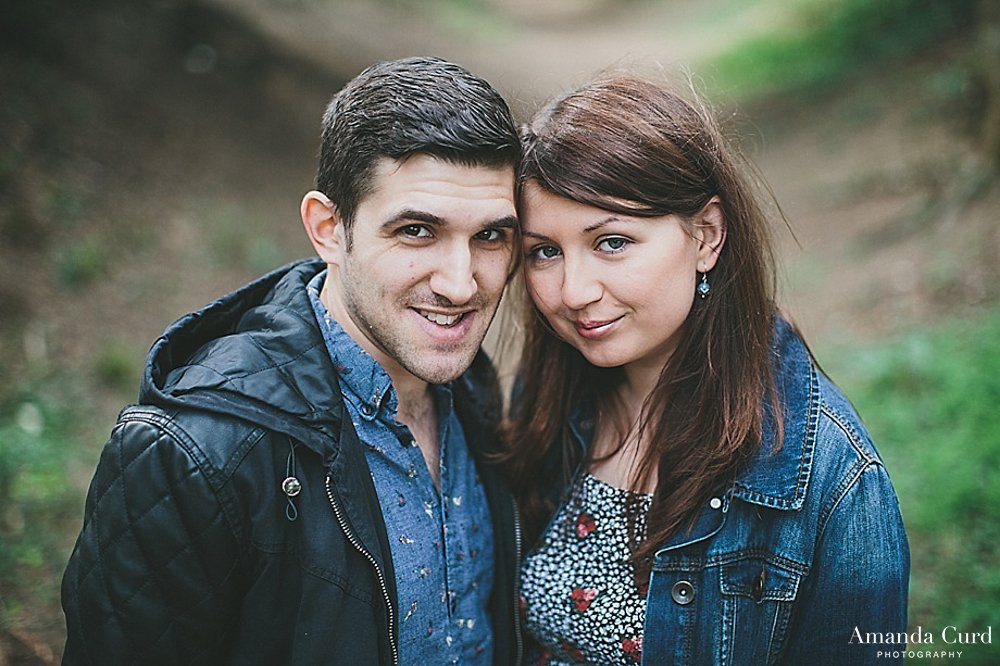 Wandlebury Country Park Engagement Photography