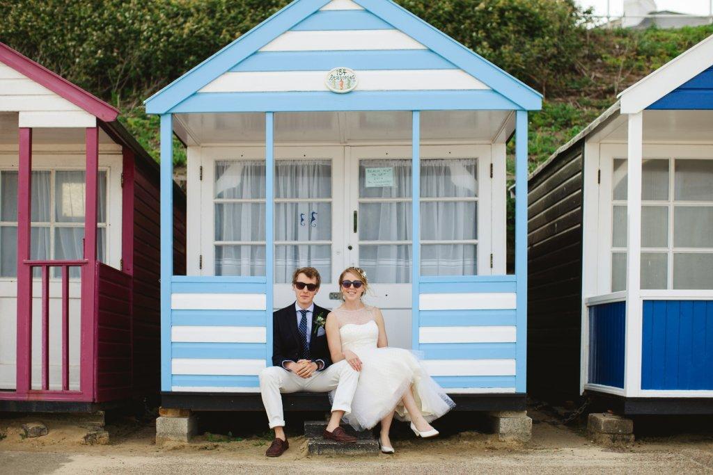 Southwold Beach Wedding Photography