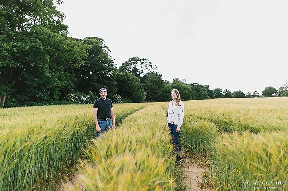 Norfolk Engagement Photography Strumpshaw