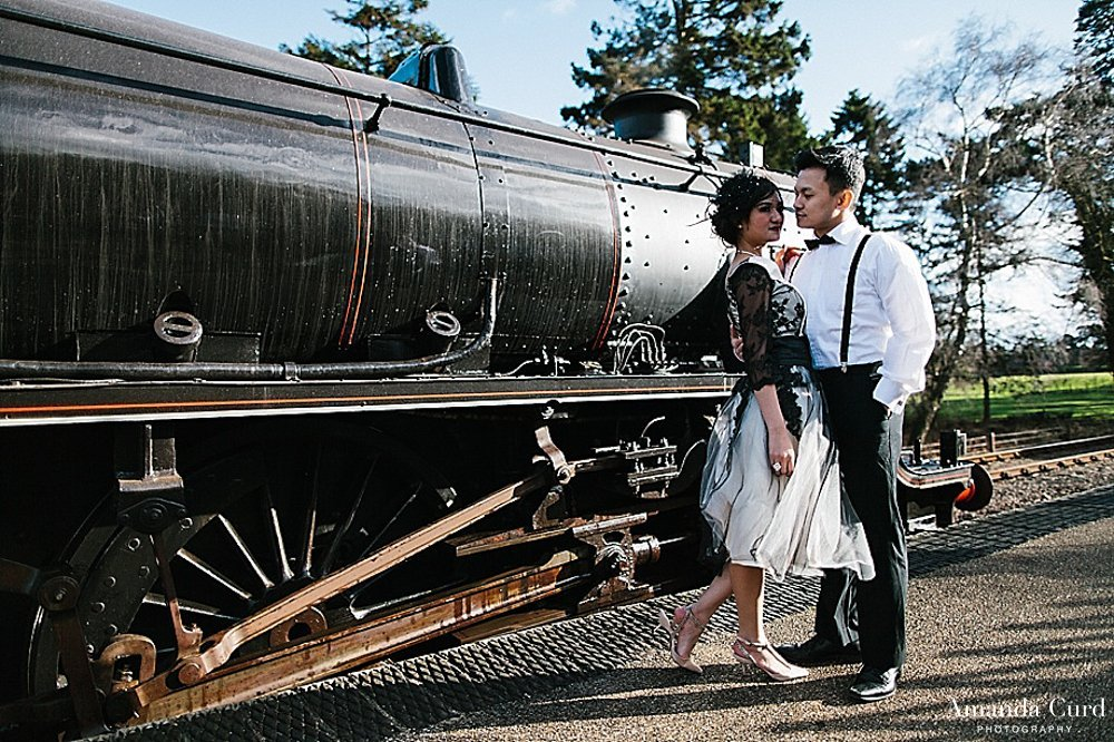 Holt Steam Station Norfolk Pre Wedding Photography