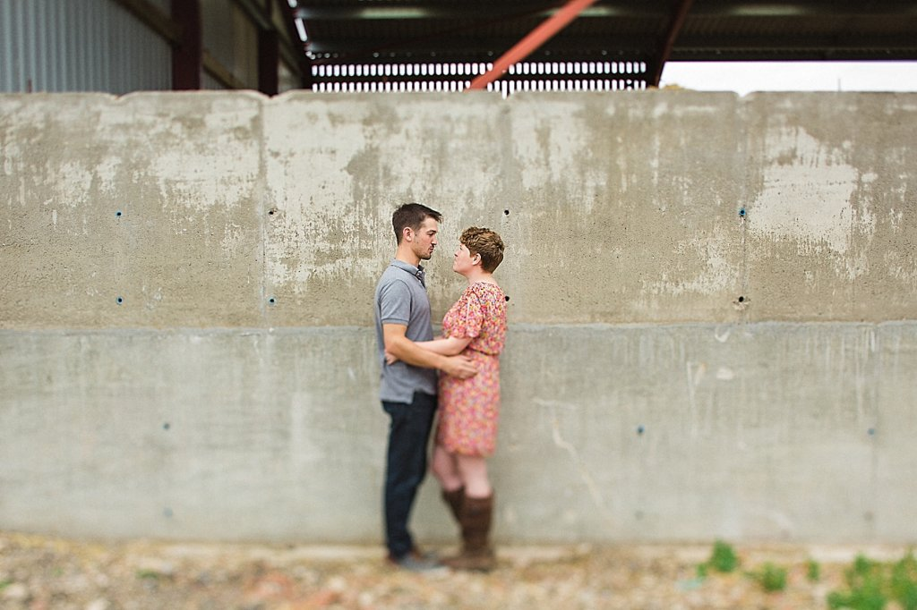 Rustic Essex Farm Engagement Photgraphy