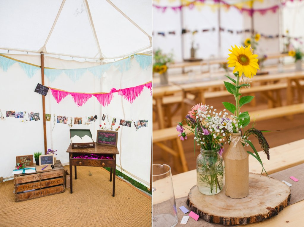 Festival Style Wedding Details
