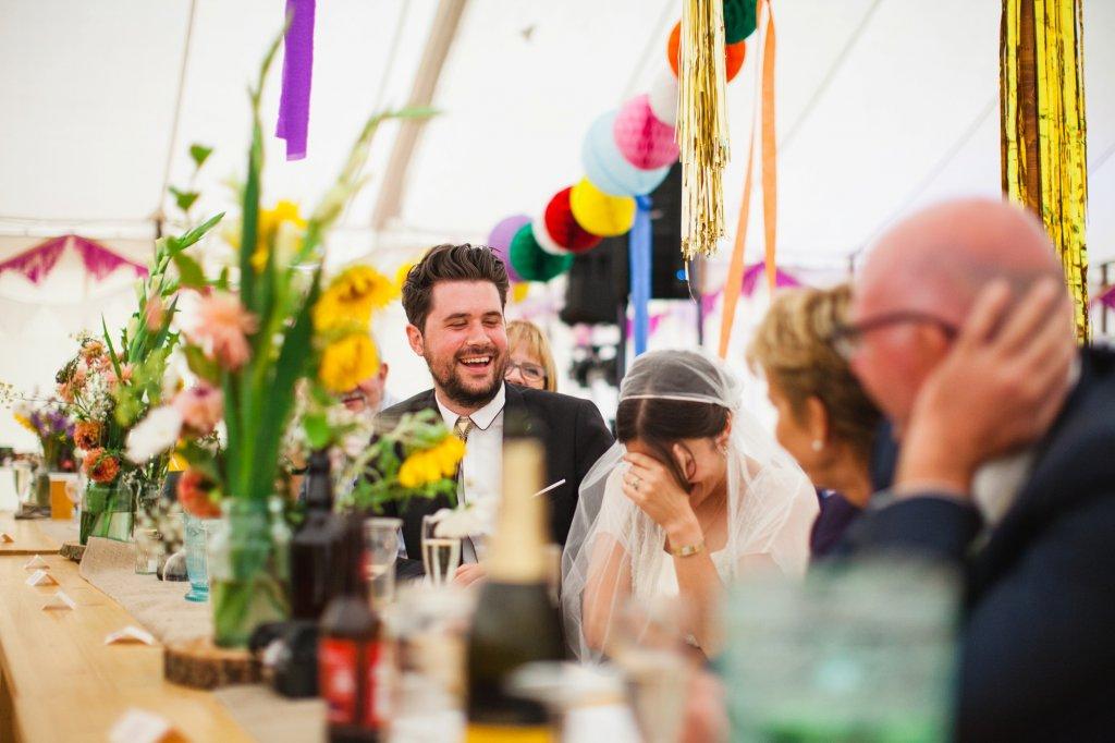 Rookery Meadow Festival Wedding