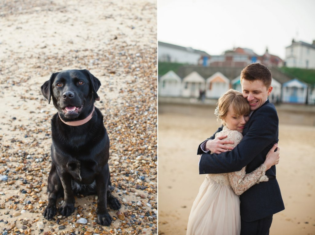 Southwold Beach Wedding Photography