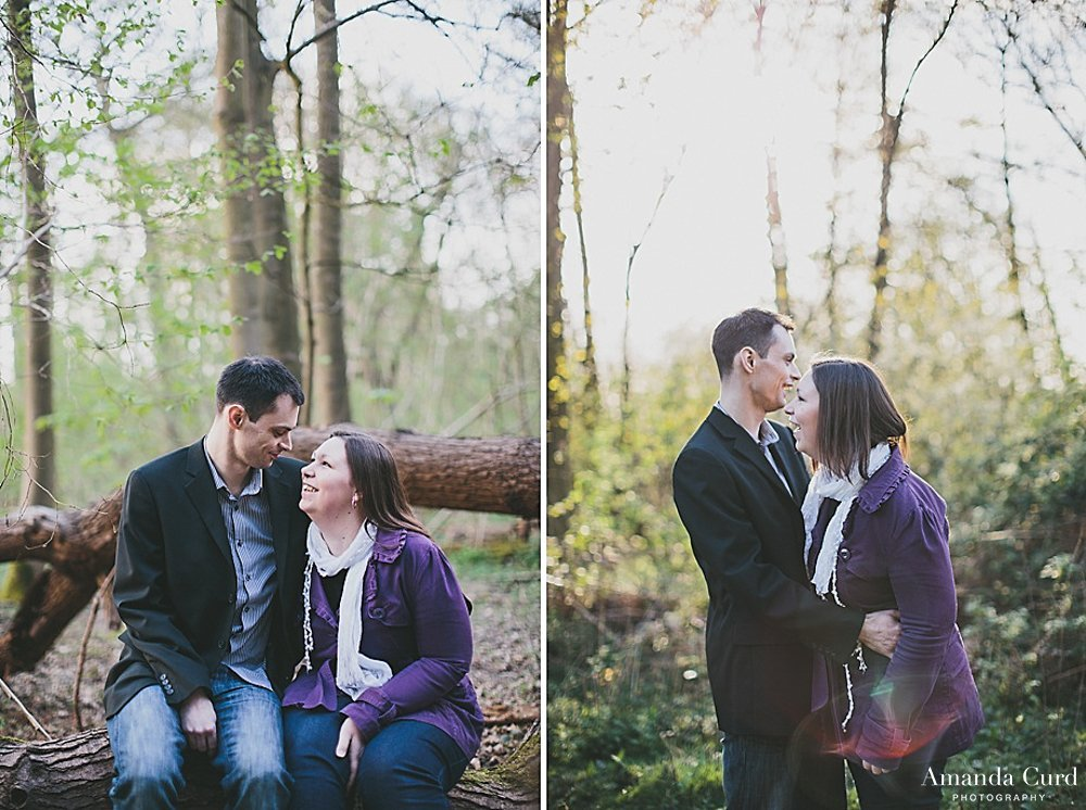 Orwell Country Park Ipswich Engagement Photography