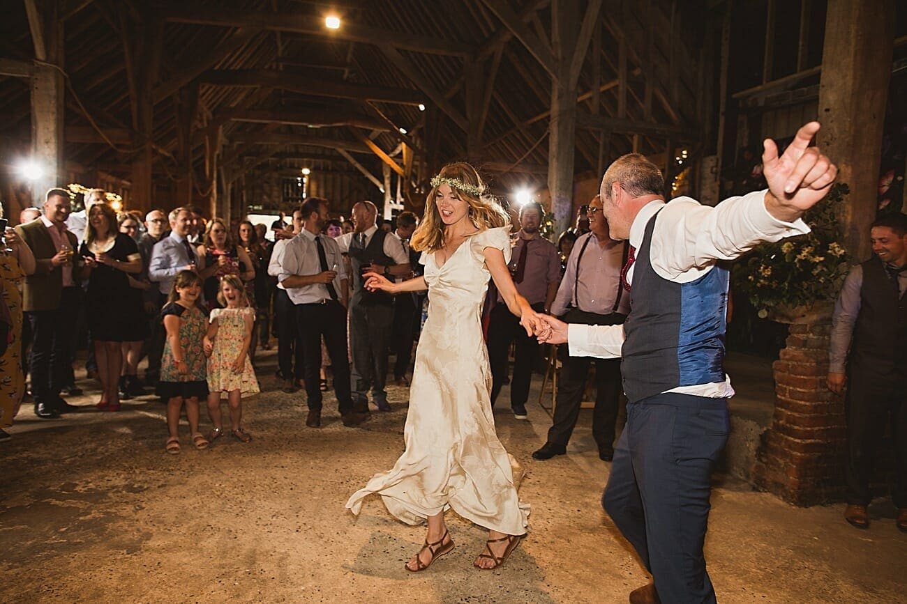 home farm wordwell bride and groom first dance
