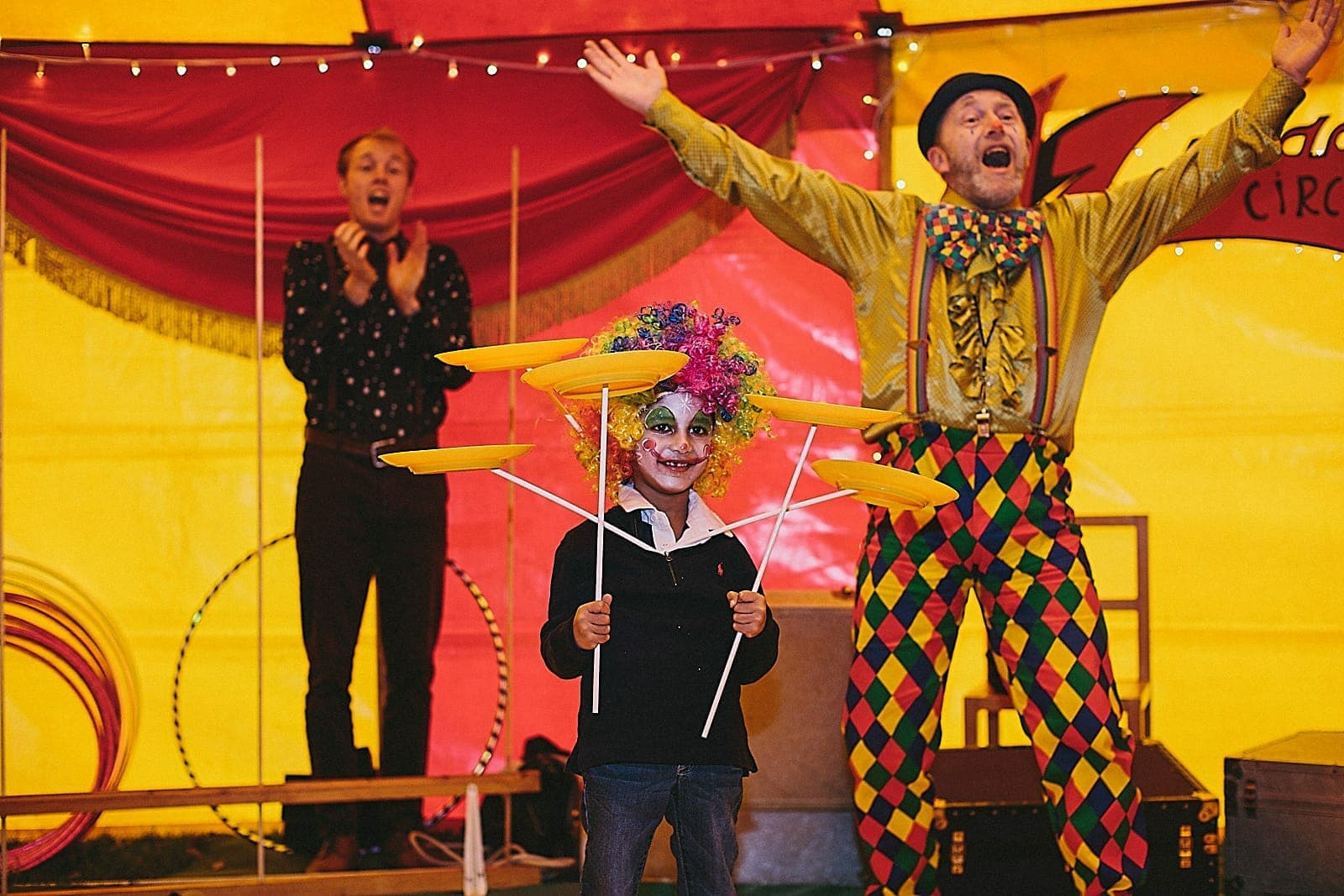 Circus Birthday Party Dulwich College London