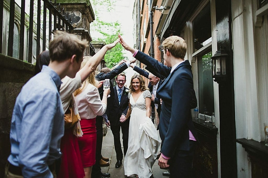 Zetter Town House Wedding & St Brides Church - London Wedding Photography
