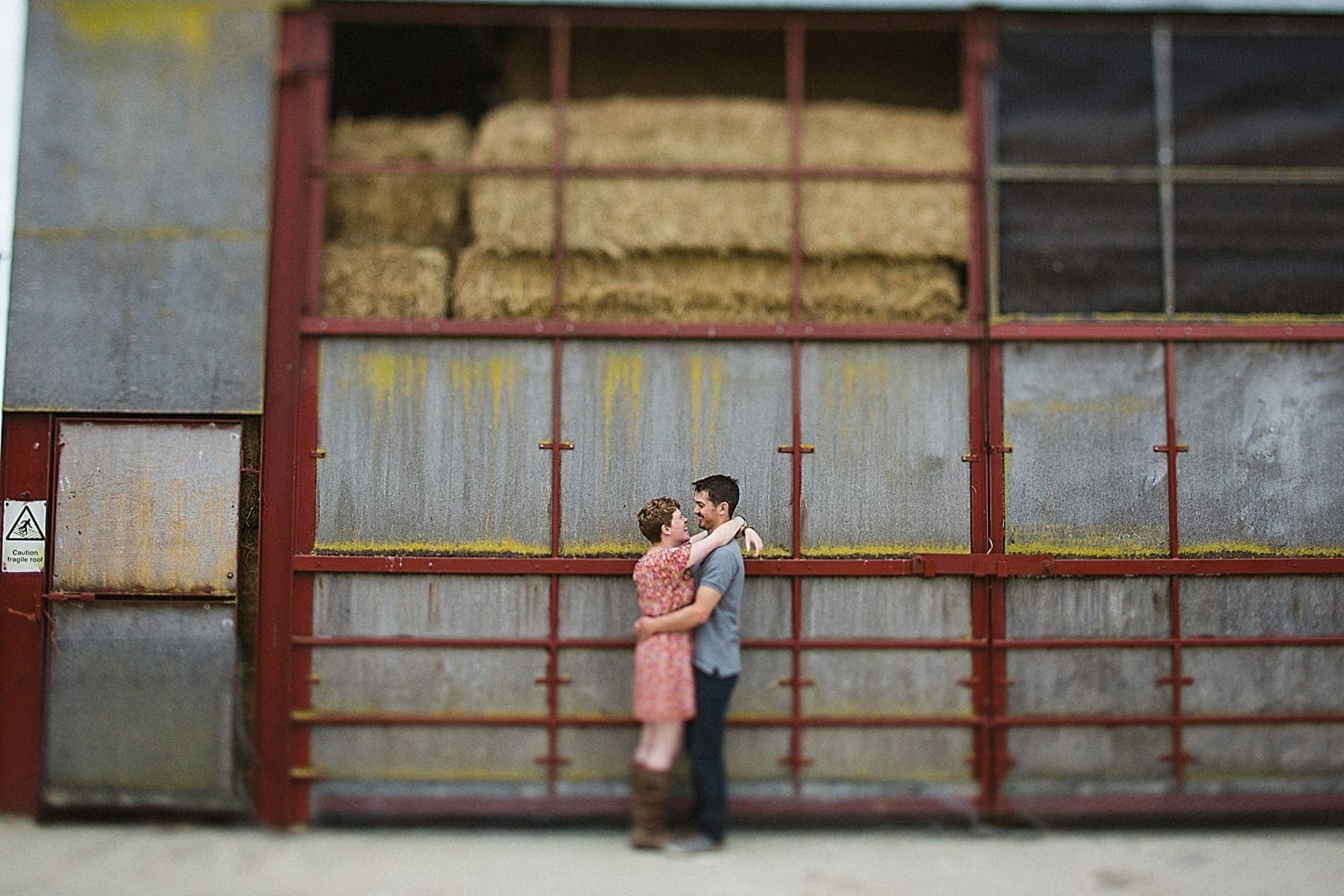 Rustic Essex Farm Engagement Photography