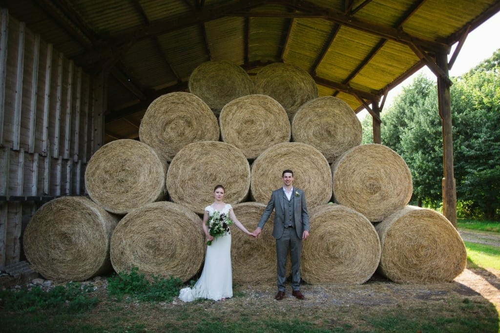 A Beautiful Rustic Columbine Hall Wedding