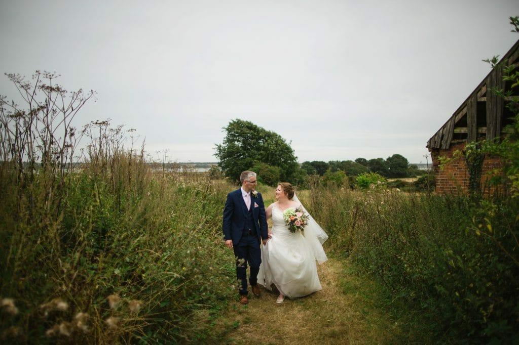 A Rustic Orwell View Barns Wedding in Suffolk