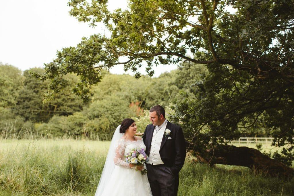 Blackthorpe barn wedding photography couple portraits