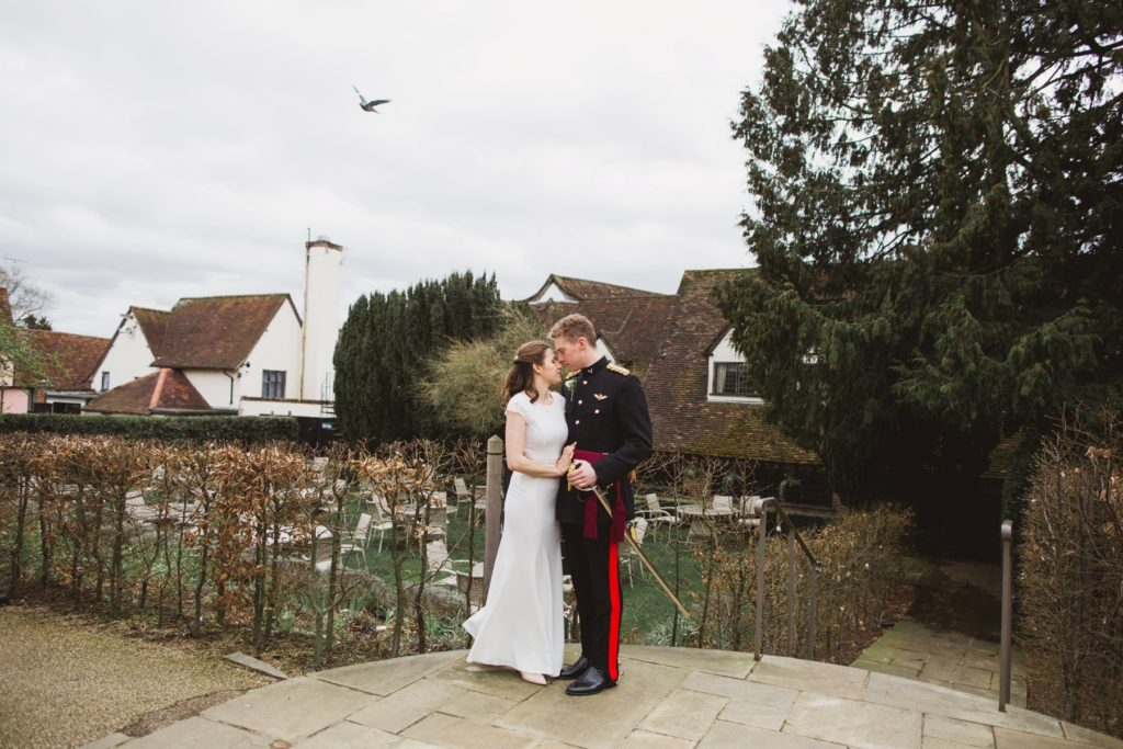 A winter wedding at the swan in Lavenham